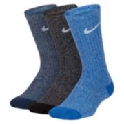 Boys 4-20 Nike 3-Pack Training Crew Socks