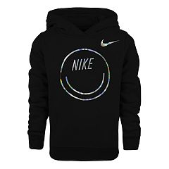 Girls 4-6x Nike Iridescent Smiley Graphic Hoodie