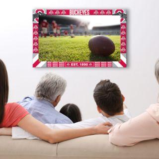 Ohio State Buckeyes Big Game TV Frame