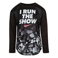 Girls 4-6x Nike 'I Run The Show' Dri-FIT Top