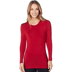 Women's Cuddl Duds Softwear Crewneck Top