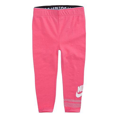reasonable price so cheap classic Girls 4-6x Nike Logo Graphic Leggings