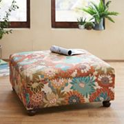 Madison Park Effie Cocktail Square Ottoman