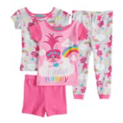 Toddler Girl DreamWorks Trolls Poppy Tops, Shorts & Pants Pajama Set