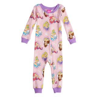 Disney Princess Baby Girl Footless Pajamas