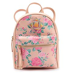 Rose Iridescent Mini Backpack
