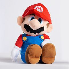 Super Mario Bros. The Real Thing Plush Cuddle Pillow