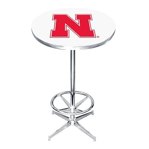 Nebraska Cornhuskers Pub Table