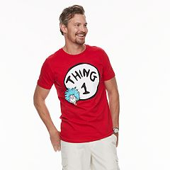Men's Dad & Me Dr. Seuss Thing 1 Graphic Tee
