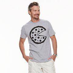 Men's Dad & Me Pizza Man Graphic Tee