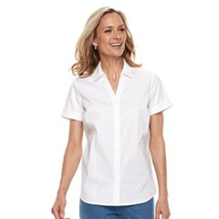Women's Croft & Barrow® Wrinkle-Resistant Shirt