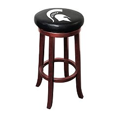 Michigan State Spartans Wooden Bar Stool