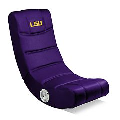 LSU Tigers Video Game Chair with Bluetooth