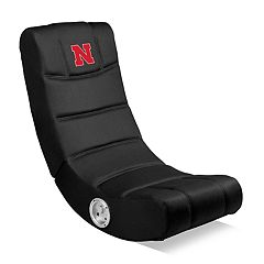 Nebraska Cornhuskers Video Game Chair with Bluetooth