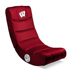 Wisconsin Badgers Video Game Chair with Bluetooth