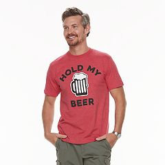 Men's Dad & Me Hold My Beer Graphic Tee