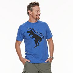Men's Dad & Me Dadasaurus Graphic Tee