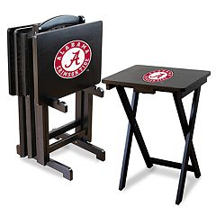 Alabama Crimson Tide TV Trays with Stand