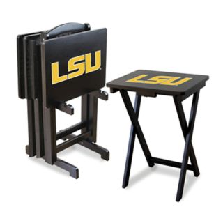 LSU Tigers TV Trays with Stand