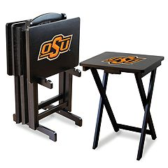 Oklahoma State Cowboys TV Trays with Stand