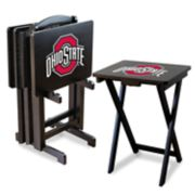 Ohio State Buckeyes TV Trays with Stand
