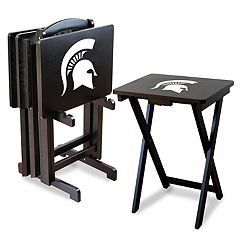 Michigan State Spartans TV Trays with Stand