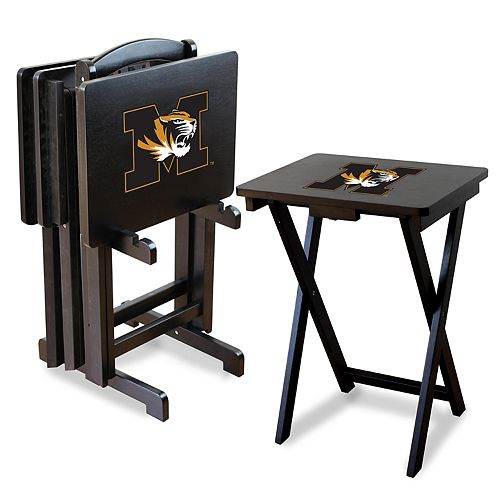 Missouri Tigers TV Trays with Stand