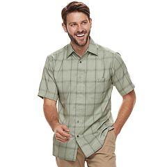 Men's Haggar Classic-Fit Microfiber Button-Down Shirt