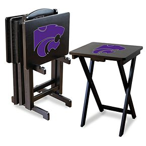 Kansas State Wildcats TV Trays with Stand
