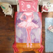 Dream Big Ballerina Twin Full Comforter Set