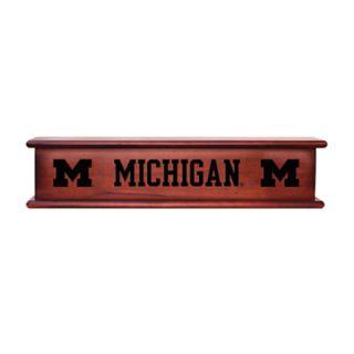 Michigan Wolverines Memorabilia Shelf