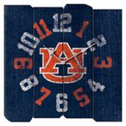 Auburn Tigers Square Clock