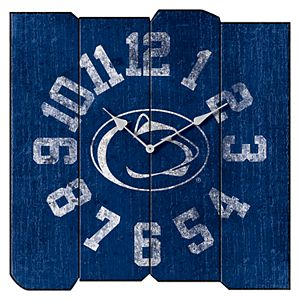 Penn State Nittany Lions Square Clock