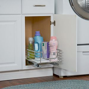 Household Essentials Design Trend Extended Depth 1-Tier 11.5-inch Wide Sliding Under Cabinet Organizer