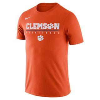 Men's Nike Clemson Tigers Basketball Legend Tee