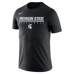 Men's Nike Michigan State Spartans Basketball Legend Tee