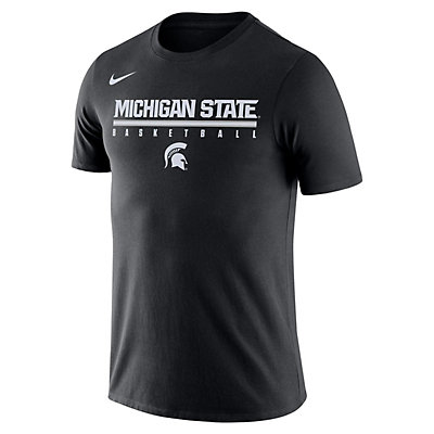 Men's Nike Michigan State Spartans Basketball Legend Tee