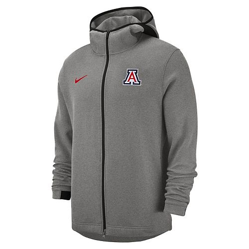 Men's Nike Arizona Wildcats Showtime Full-Zip Hoodie