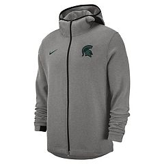 Men's Nike Michigan State Spartans Showtime Full-Zip Hoodie