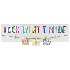 Belle Maison 'Look What I Made' Wall Decor