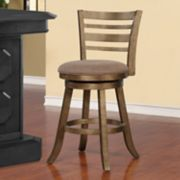 Linon Southern Swivel Bar Stool