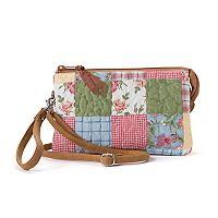 Donna Sharp Patchwork Convertible Organizer Wristlet