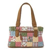 Donna Sharp Reese Patchwork Shoulder Bag