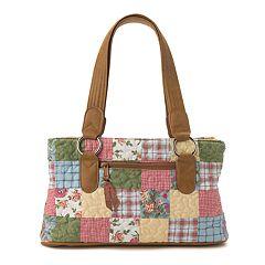 Donna Sharp Reese Patchwork Shoulder Bag