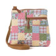 Donna Sharp Becki Patchwork Crossbody Bag