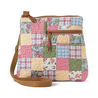 Donna Sharp Becki Patchwork Crossbody Bag