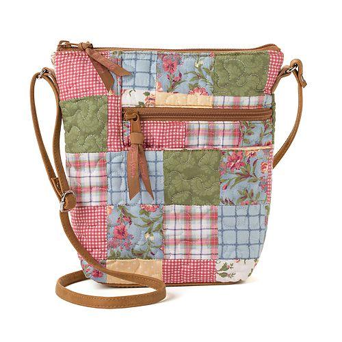 Donna Sharp Penny Patchwork Crossbody Bag