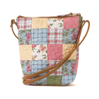 Donna Sharp Penny Patchwork Crossbody Bag