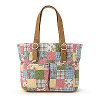 Donna Sharp Elaina Patchwork Shoulder Bag