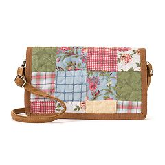 Donna Sharp Patchwork Crossbody Wallet